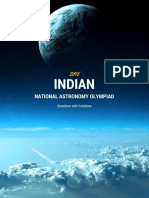Indian National Astronomy Olympiad 2016
