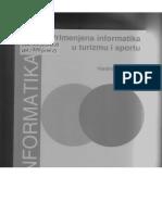 Inform. Sistemi u Sportu, Zdravstvu i Turizmu, ZA ISPIT