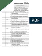List Akreditas Bab VI