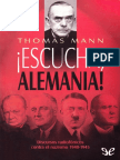 !Escucha, Alemania! - Thomas Mann