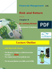Risk and Return - Lecture 3.ppt