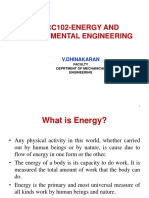 Basics of Energy and classification