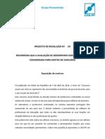 Projecto resolução concursos professores - CDS