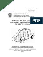 Mempersiapkan Komponen Kendaraan Untuk Perbaikan Pengecatan Kecil