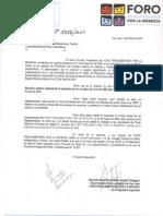 Nota a ConsFedNiñez - Ley Niñez Santa Fe