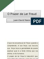 O Prazer de Ler Freud (Síntese)