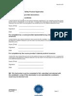 Word Format of Blank Report. nebosh igc