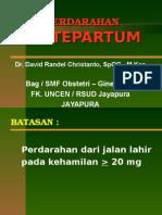 5. Perdarahan Antepartum