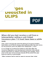 Charges deducted in ulips - Best Ulip Insurance Policy
