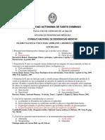 Examen Residencias Médicas 2015