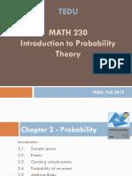 MATH230 probability