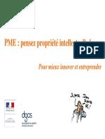 Pme Pensez Propric3a9tc3a9 Intellectuelle