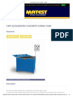 Accelerated Concrete Curing Tank - Matest