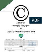 Group 2 LAM Managing Copyright