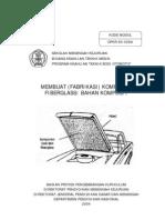Membuat Fabrikasi Komponen Fiberglass Bahan Komposit