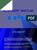ALTERNATİF YAKITLAR lpg proje sunu