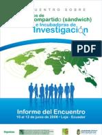 Informe i Encuentro Dtcii