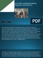 1050 Lecie Chrztu Polski- Od Bałwochwalstwa Słowiańskiego Do 'Kultu Stwórcy'