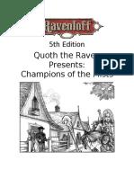 5e - Ravenloft Campaign Guide