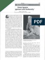 Barten - 2003 - Green Iguana Management and Husbandry