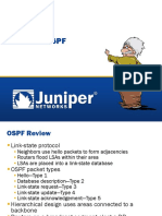 OSPF in Juniper
