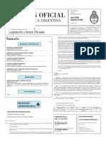 Boletín Oficial - 2016-03-03 - 1º Sección