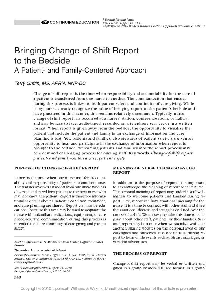 Nursing Change Of Shift Report Template from imgv2-1-f.scribdassets.com