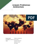 Os Principais Problemas Ambientais