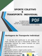 Transporte prós e contras dos meios de transporte