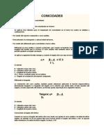 Fórmulas Para El Cálculo de Conicidades