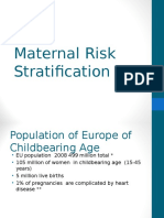 Maternal Risk Stratification
