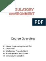 Chapter 5. Regulatory Environment