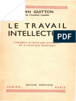 Jean Guitton - Le travail intellectuel.pdf