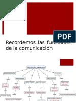 Funciones Comunicacion y Modalidades Textuales