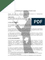 Convocatoria Copa Gastronomica Futbol 7