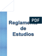 Reglamento de Estudios 2015 usil