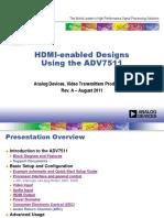 HDMI-Enabled Designs Using ADV7511