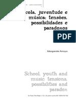 A Escola e a Interação de Adolescentes e Música Popula ...(M.arroyo) (1)