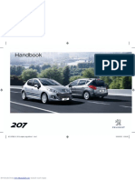 Peugeot 207 Manual