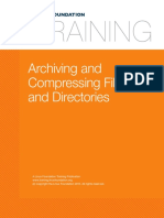 LINUXFilesystems and Storage Archiving and Compressing Files and Directories