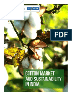 Cotton Market and Sustainability in India
