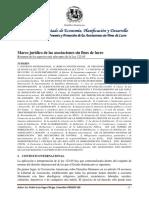 Marco Legal Asociaciones Sin Fines de Lucro - ASFLs