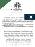 Sentencia Sala Constitucional 16 0153