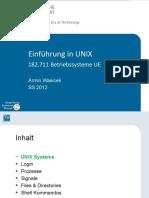 Unix 1 Intro Ss12