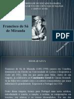 Francisco Sá de Miranda.ppt