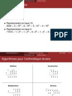 Arithmetique binaire