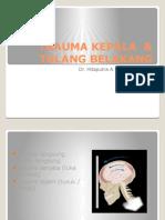 Trauma Kepala & Tulang Belakang