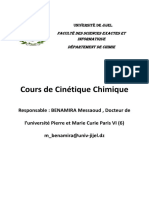Cours Dr BENAMIRA MESSAOUD Chimique Master 2 Chimie Des Matériaux