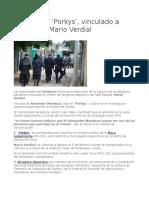Arrestan Al Porkys, Vinculado a Crimen de Mario Verdial