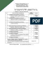 Dosificación Bimestral Ciencias 2 Bloque 2